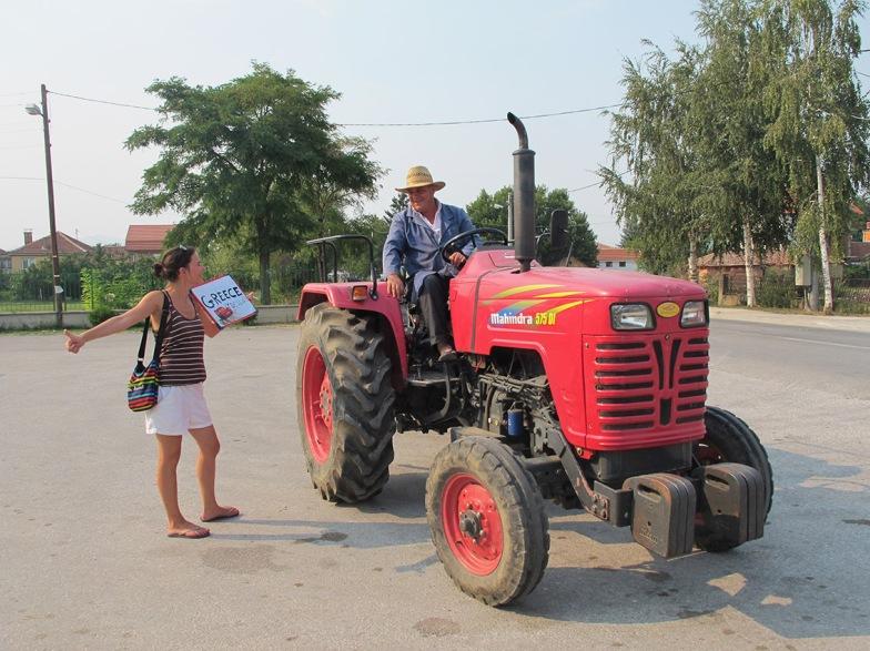 Aurélie tracteur