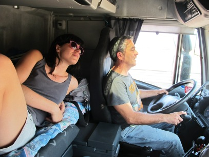 Sandra Bibo camion venise
